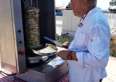 שף קרוזו - עמדת שווארמה