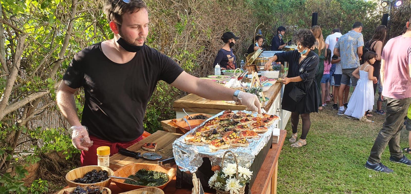 מיני פיצה של קייטרינג לבר מצווה